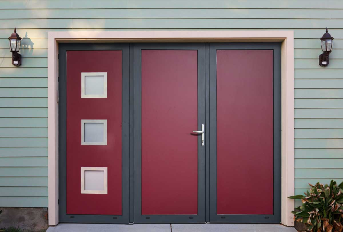 Pose de portes de garage et de fermetures industrielles - Porte garage battant ...